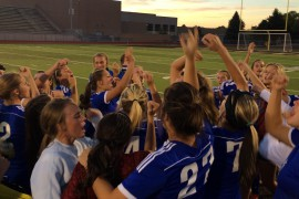 Girl's soccer ends with a strong playoff
