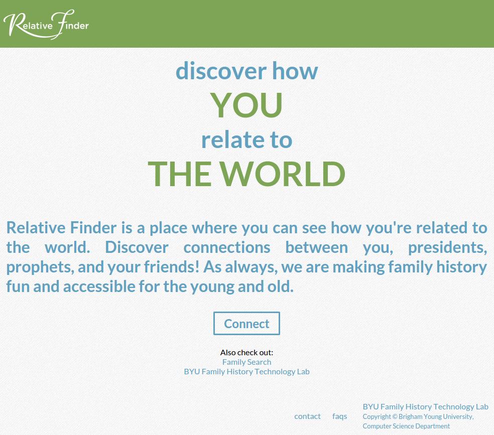 Relative Finder