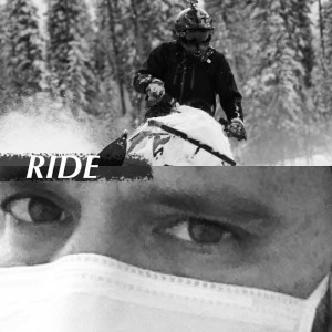 """Stucki's album cover for her song, """"Ride""""."""