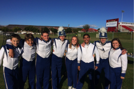 Drumline starts season with new members, ends with a team