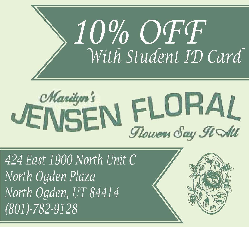 Jensen Floral Ad