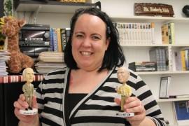 Ms. Hatch: shoe addict, high school graduate at 15, and adventurer