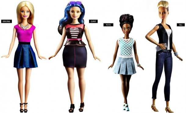 Women come in all shapes and sizes, even plastic
