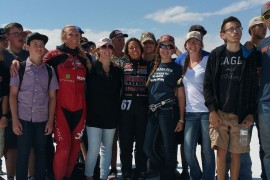Fremont students set an unofficial record at the salt flats