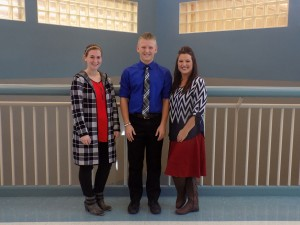 Mrs. Cevering, Tucker Burton, Jamee Burton