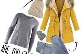 Baby it's cold outside : Winter Fashion
