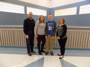 James Berghout, with parents James and Sarah Berghout, nominated by Mrs. Taylor.