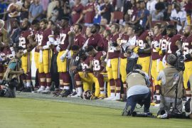 Taking a knee and taking offense