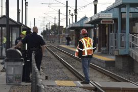 Man dies after hit by a train