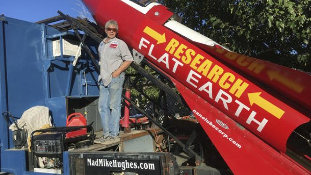 California Man Makes Plans to go to Space in Homemade Rocket