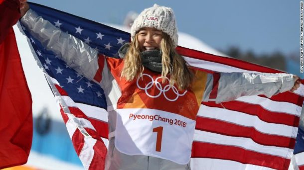 Chloe Kim brings home gold