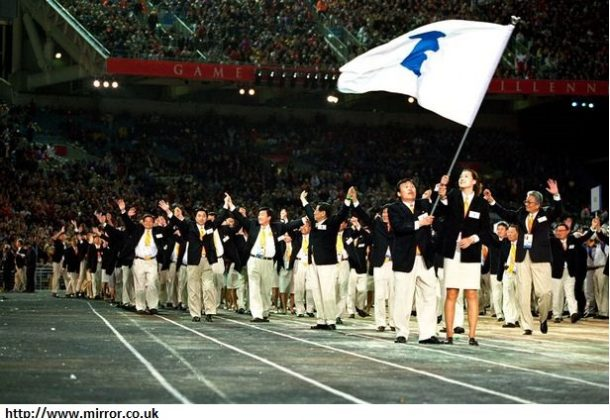 Olympics finally starts with opening ceremonies