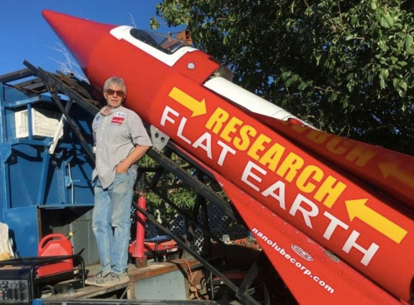 Man launches homemade rocket into space