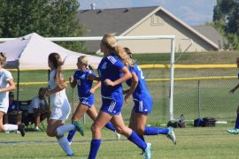 Girls' Soccer keeps positive attitude despite tough season