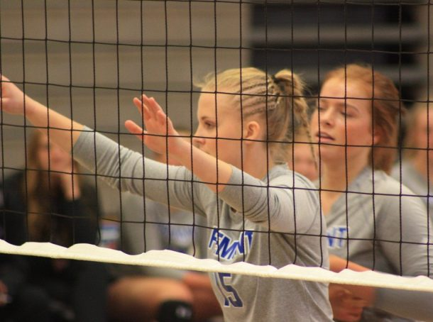 Killin' it this volleyball season