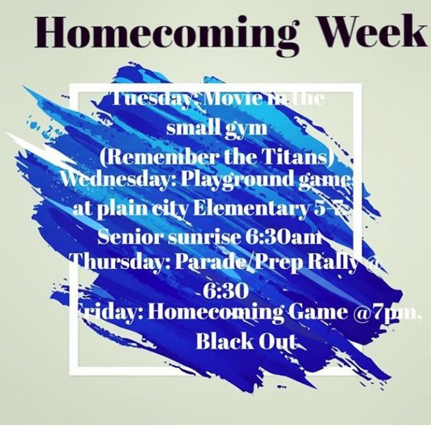 Homecoming during the third week of school?